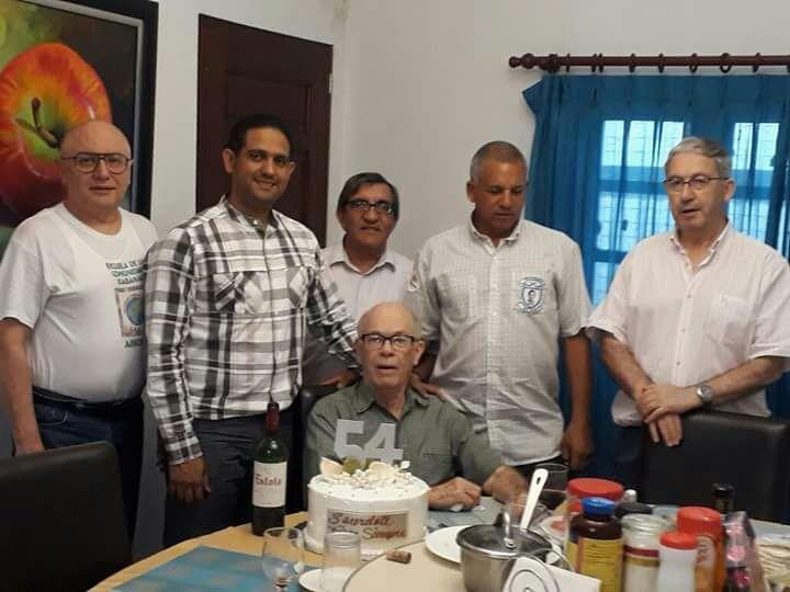 Padre Jesús María Tejada 54 años en el Sacerdocio